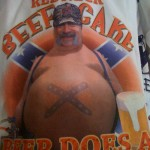Redneck beef cake - Beer does a body good