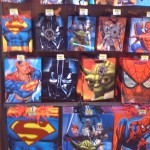 All my heros have sold out - Gift aisle at Walmart