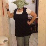 Kelly as Yoda