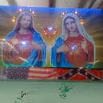 Jesus and Mary USA and Rebel - Greatest Photo Ever