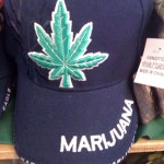 Marijuana, it's on the hat