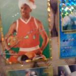 Photoshop Michael Jordon Christmas Card