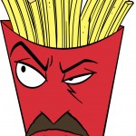 Frylock - well it would be a challange, but I figure some red face paint and some interesting head peice...