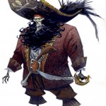 LeChuck - Perfect costume for the 31st: Scary ghost pirate! And Monkey Island is the best game ever... period.