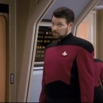 Commander Riker - Number 2 makes for a plausible halloween beard combination